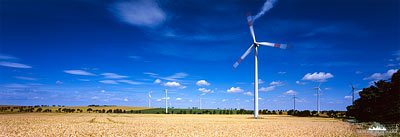 Vestas Windräder - Panorama Windenergie