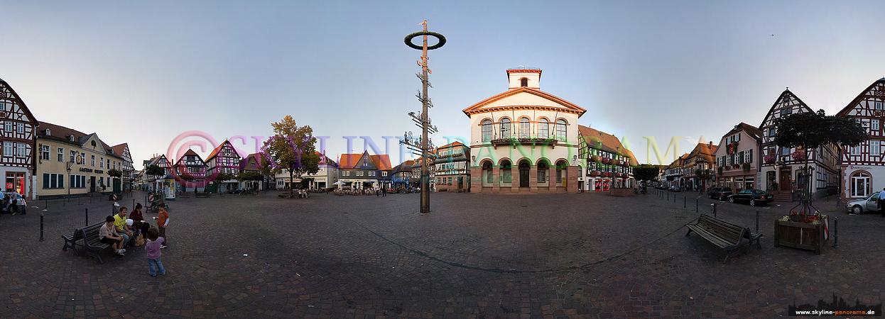 Marktplatz von Seligenstadt