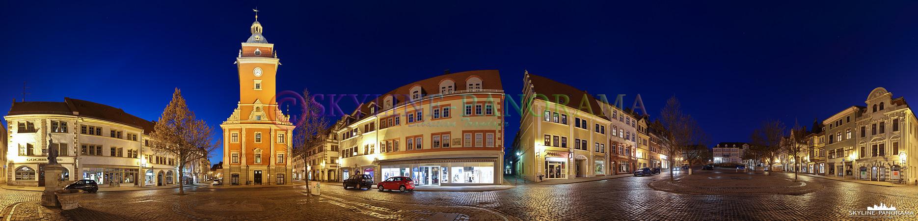 Gotha Rathaus Panorama