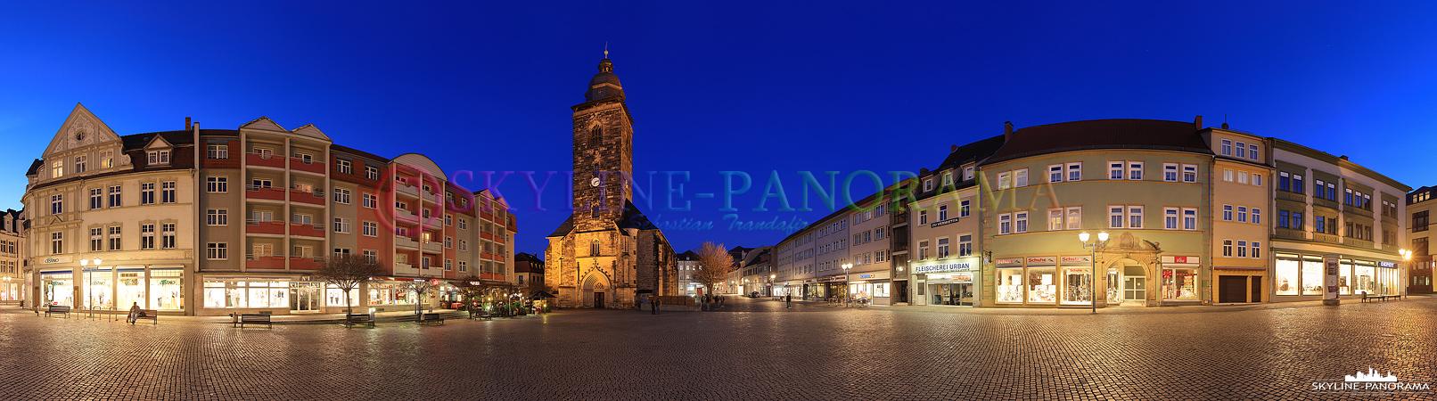 Panorama Gotha - Neumarkt