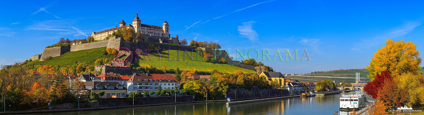 Fotos De Skyline >> Panorama Würzburg - Bayern (p_00648) - skyline-panorama.de