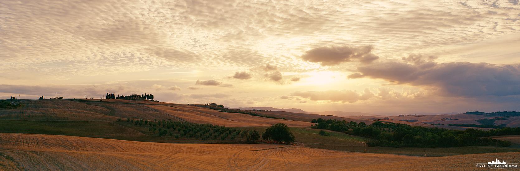Toskana Panorama - Landschaft Italien (p_01173)