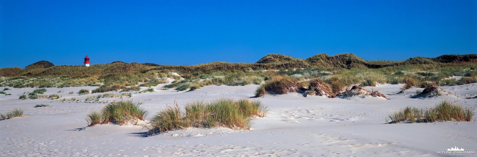 Strand von Amrum mit Quermarkenfeuer (p_01206)