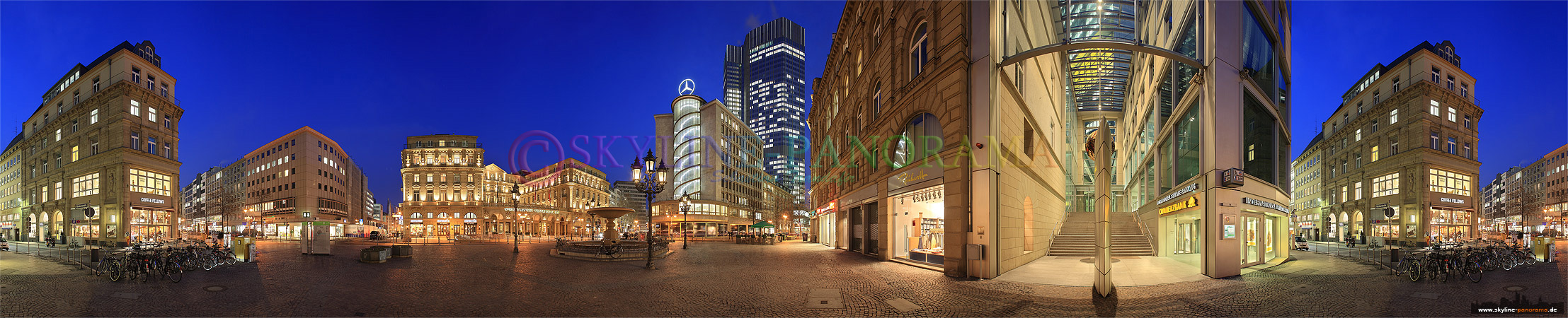 Innenstadt Bilder - Der Kaiserplatz (ehemals Friedrich-Ebert-Platz) ist einer der zentralen Plätze in Frankfurt am Main.
