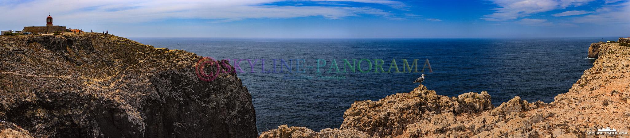 Portugal Bilder Algarve - Cabo de São Vicente ist der südwestliche Punkt Europas.