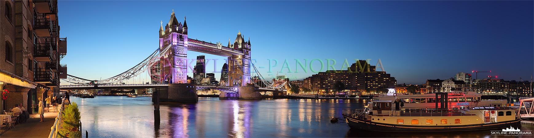 Sehenswürdigkeiten London - Die historische Tower Bridge zählt zu den bekanntesten Sehenswürdigkeiten Großbritanniens und ist zugleich eines der beeindruckendsten Wahrzeichen von London.