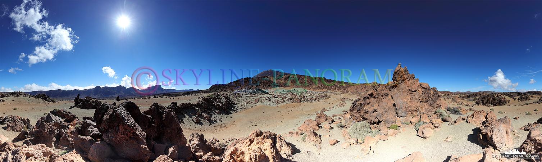 Panorama Teneriffa - Die Ebene Minas de San José besticht durch ihre einzigartige Atmosphäre und ist ein Paradies für Fotografen und Filmemacher.