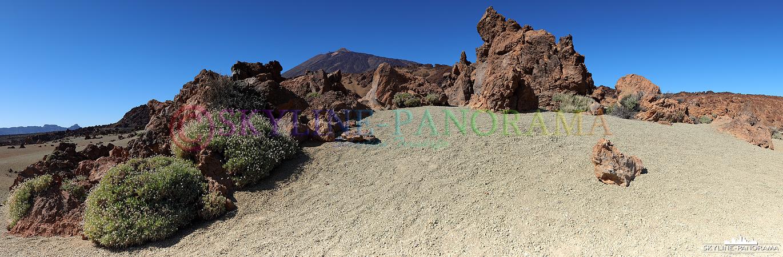 Nationalpark Teide - Die Minas de San José liegt auf einer Höhe von ca. 2300 Metern über dem Meeresspiegel; der Pico del Teide, mit seinen 3718 Metern...
