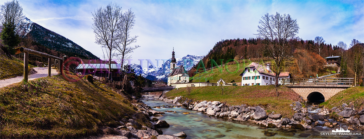 Panorama aus dem Berchtesgadener Land - Ramsau