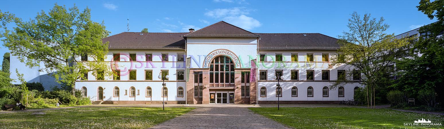 Bilder aus Offenbach - Panorama des Deutschen Ledermuseums in Offenbach am Main.