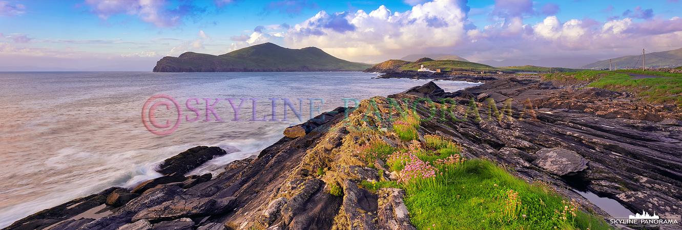 Irland Panorama in 6x17 - Zurück am Cromwell Point auf Valentia Island, diesmal im Licht der untergehenden Sonne.