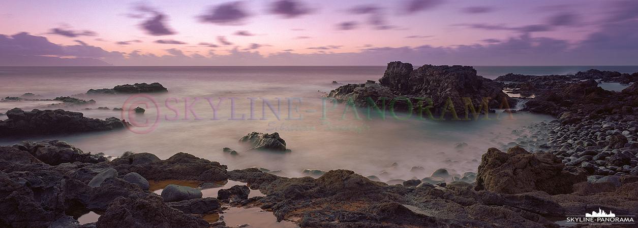 Teneriffa in 6x17 - Dieses Seascape Panorama entstand ebenfalls an der Felsenküste am Punta de Teno im Nordwesten der spanischen Insel Teneriffa.