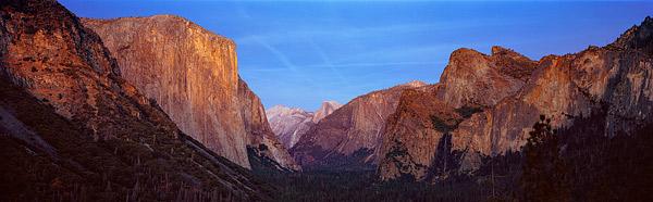 Bilder aus dem Westen der USA als Panorama