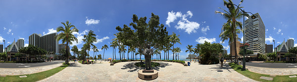 Bilder aus Hawaii als Panorama