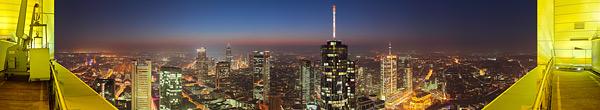 Frankfurt - Aussicht von einigen Hochhäusern aus