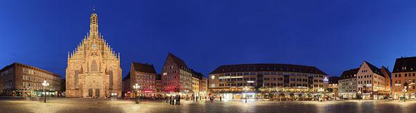 Panorama Nürnberg als Panorama