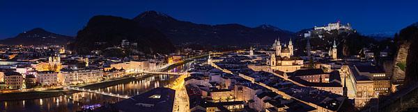Bilder aus Salzburg und dem Salzburger Land als Panorama