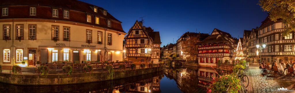 Panoramabilder aus dem Elsass und der Stadt Straßburg
