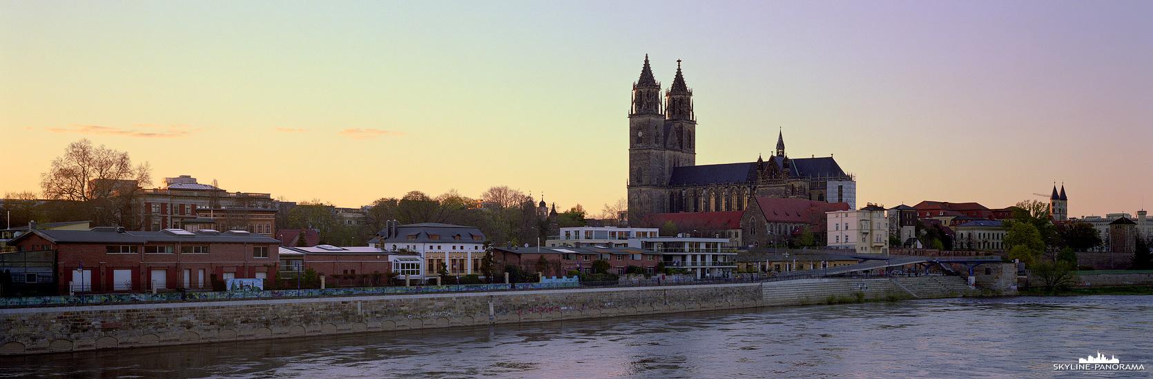 Ansicht von Magdeburg - Skyline Bild (p_01175)