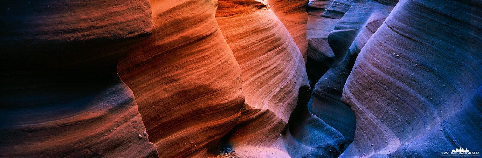 Slot Canyon in Page Arizona - (p_01198)